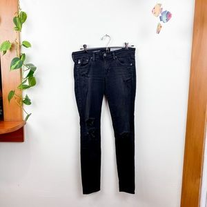 Adriano Goldschmied The Super Skinny Ankle Jeans